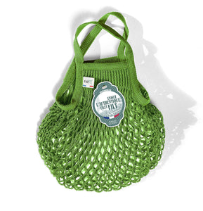Filt French Market Tote Bag Small in Apple Green (Set of 2)