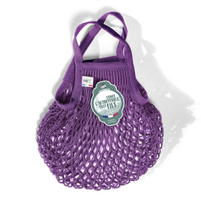 Filt French Market Tote Bag Small in Violet (Set of 2)