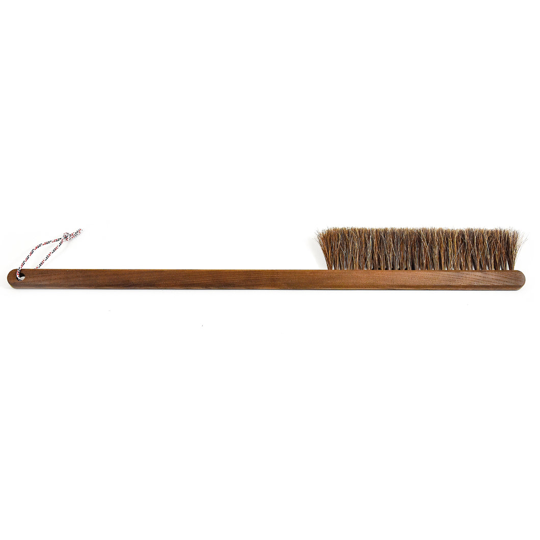 Andrée Jardin Heritage Long Hand Brush Heat-treated Ash Wood and Pure Horsehair