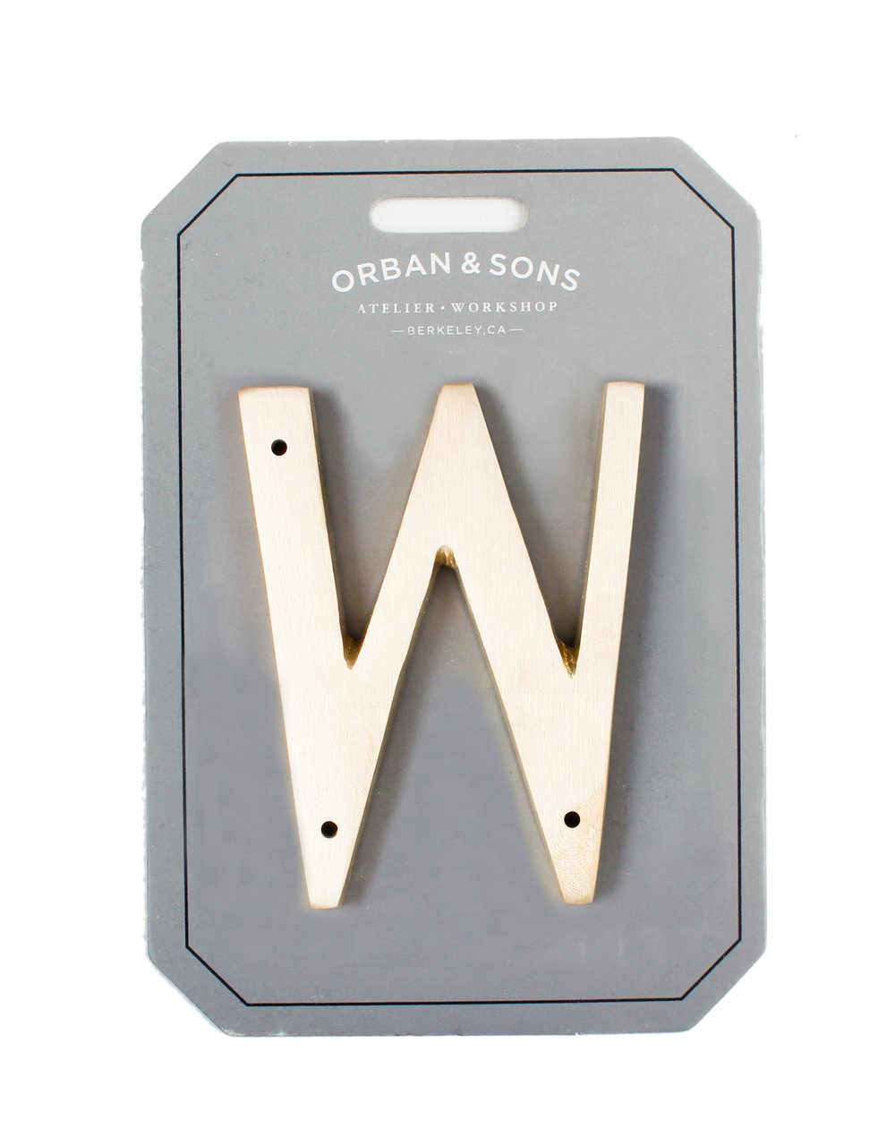 Orban & Sons Brass Letter