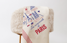 "Load image into Gallery viewer, Tissage de L'Ouest Les Monuments de Paris Dish Towel (21.6"" x 31.4"")"