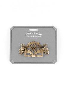 Orban & Sons Ornate Brass Pulls (Set of 3)