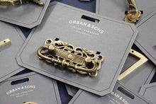 Load image into Gallery viewer, Orban & Sons Fancy Brass Pulls (Set of 3)