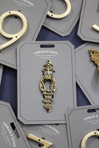 Orban & Sons Brass Keyhole (Set of 6)