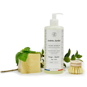 Andrée Jardin Liquid Dish Soap - Sage & Basil 500ml (Set of 2)