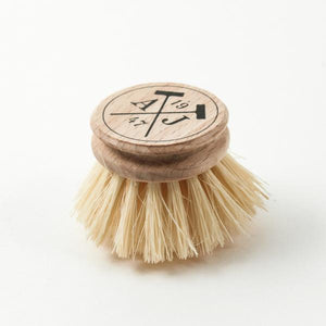 Andrée Jardin Tradition Handled Dish Brush Head Only Refill (Set of 4)