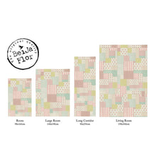 Load image into Gallery viewer, Beija Flor Marie Louise Patchwork Floor Mat