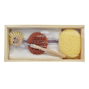 "Andrée Jardin ""Tradition"" Dish Kit in Wooden Box"