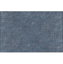 Load image into Gallery viewer, Beija Flor Dark Blue Linen Placemat (Set of 4)