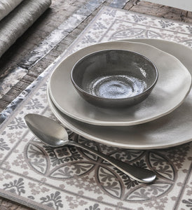 Beija Flor Light Grey Barcelona Placemat (Set of 4)
