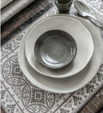 Load image into Gallery viewer, Beija Flor Light Grey Barcelona Placemat (Set of 4)