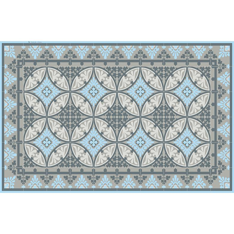 Beija Flor Light Blue Barcelona Placemat (Set of 4)