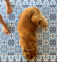 Load image into Gallery viewer, Beija Flor Dark Blue Barcelona Floor Mat