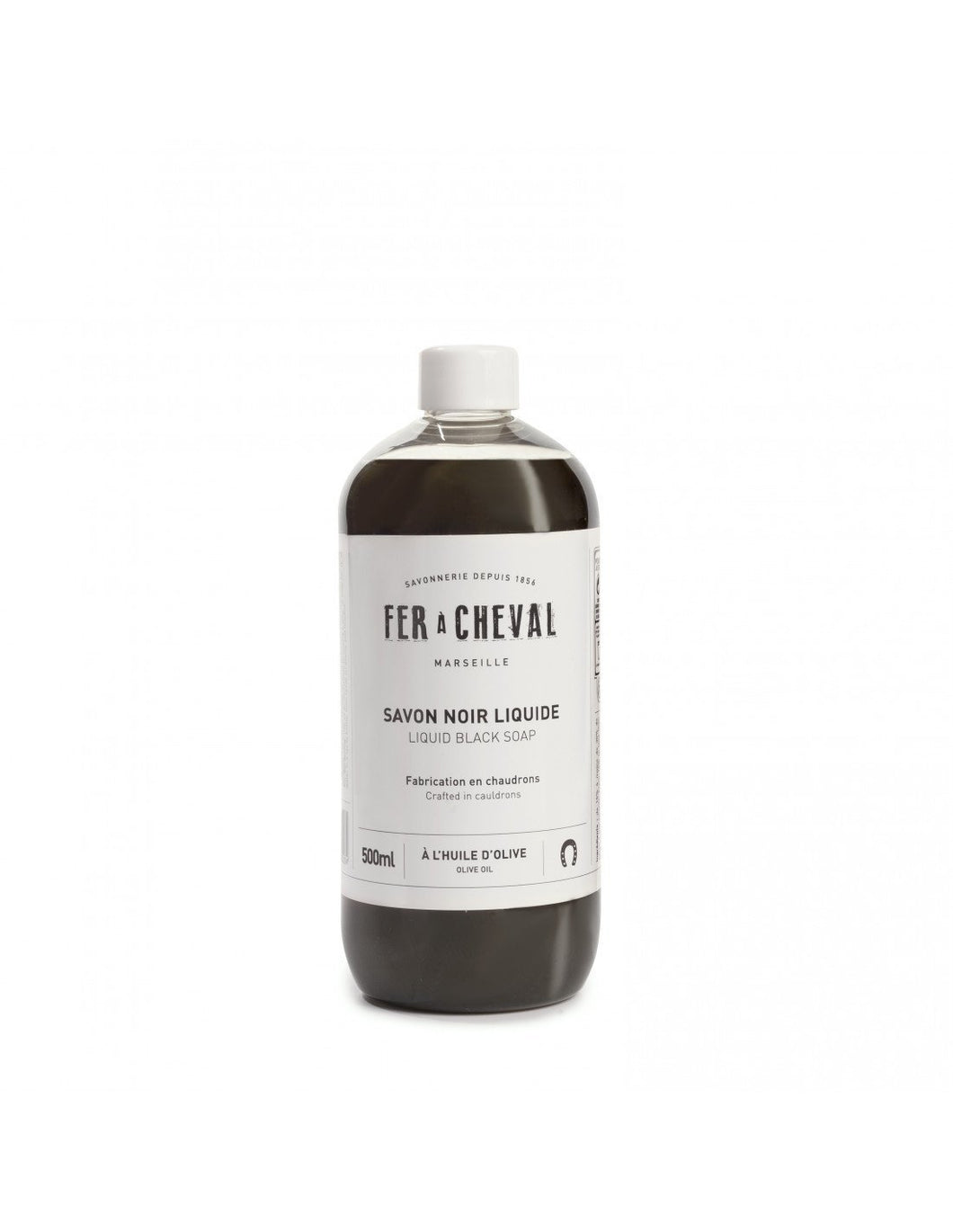 Fer à Cheval Liquid Black Soap Olive Oil 500ml (Set of 2)