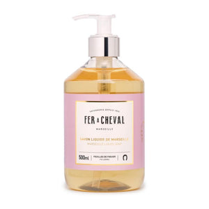 Fer à Cheval Marseille Liquid Soap Fig Leaves 500ml (Set of 2)