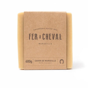 Fer à Cheval Genuine Marseille Soap Unscented 600g Cube (Set of 3)