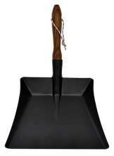 Load image into Gallery viewer, Andrée Jardin Heritage Black Dustpan with Ash Wood Handle
