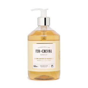 Fer à Cheval Marseille Liquid Soap White Tea & Yuzu 500ml (Set of 2)