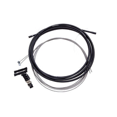 Sram Mtb Brake Cable Kit Black 5mm (1x 1350mm, 1x 2350mm 1.5mm Stainless Cables, 5mm Coil Wound Steel Housing, Ferrules, End Caps, Frame Protectors)