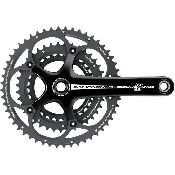 Campagnolo Athena 11x Triple P-t Black Chainsets-Pedal Kings