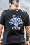 Jake the Viking Black Tee