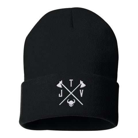 Jake the Viking Black Beanie