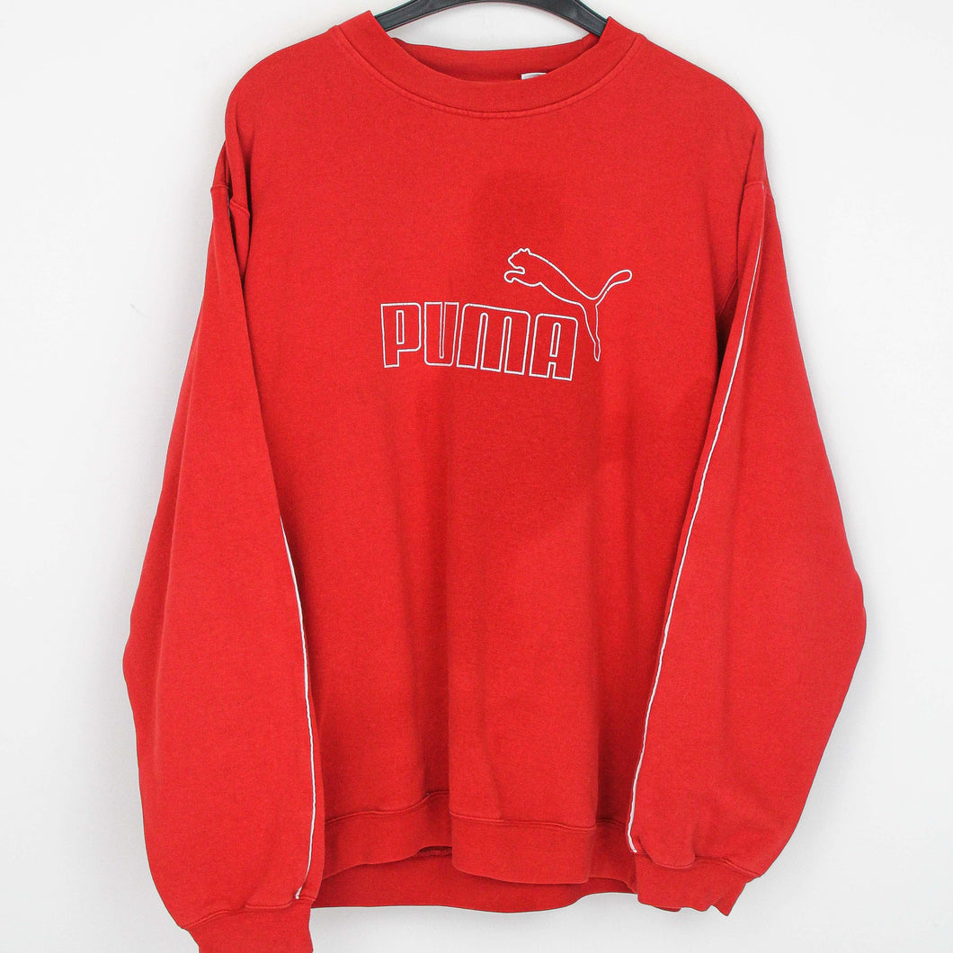 PUMA {STICK} SPELLOUT SWEATER | M