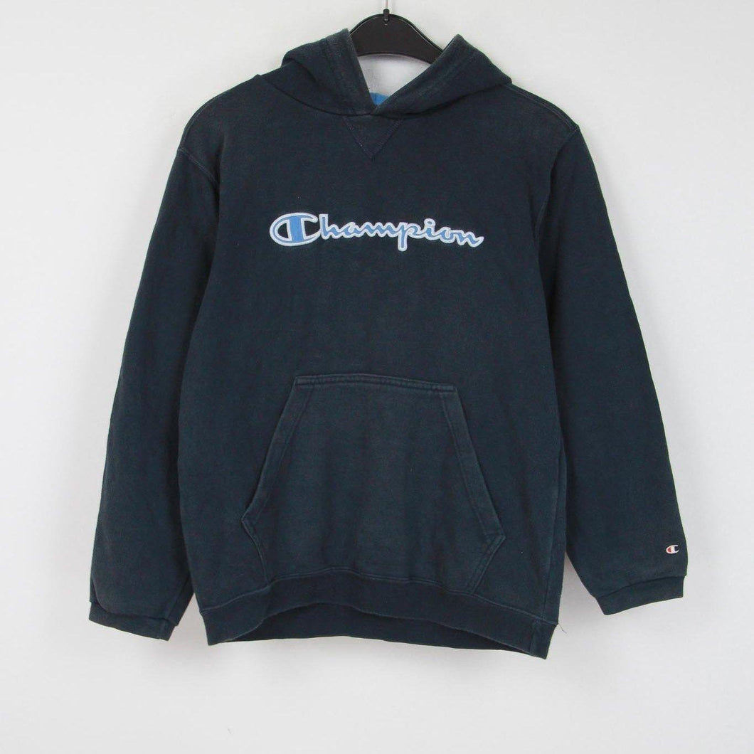 CHAMPION EMBROIDERED HOODIE | XS