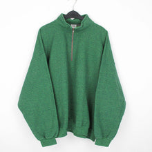 Laden Sie das Bild in den Galerie-Viewer, NATURE GREEN QUARTER ZIP | L