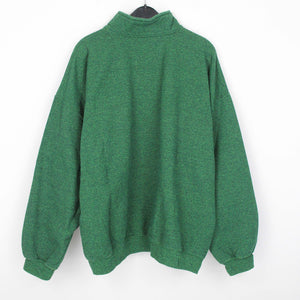 NATURE GREEN QUARTER ZIP | L
