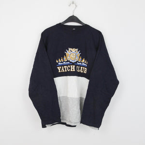 VINTAGE YACHT CLUB SWEATER | L