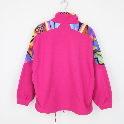 VINTAGE PINK CRAZY FLEECE | S-M