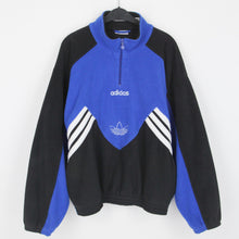 Laden Sie das Bild in den Galerie-Viewer, ADIDAS EMBROIDERED MIDDLE LOGO FLEECE | XL