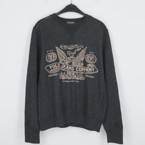 POLO RALPH LAUREN GRAPHIC SWEATER | M-L