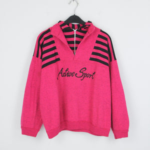 PINK ACTIVE SPORT ZP SWEATER | M