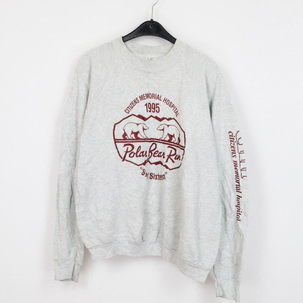 1995 Polar Bear SWEATER | XL