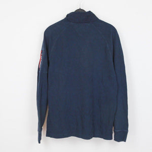TOMMY HILFIGER QUARTER ZIP SWEATER | L