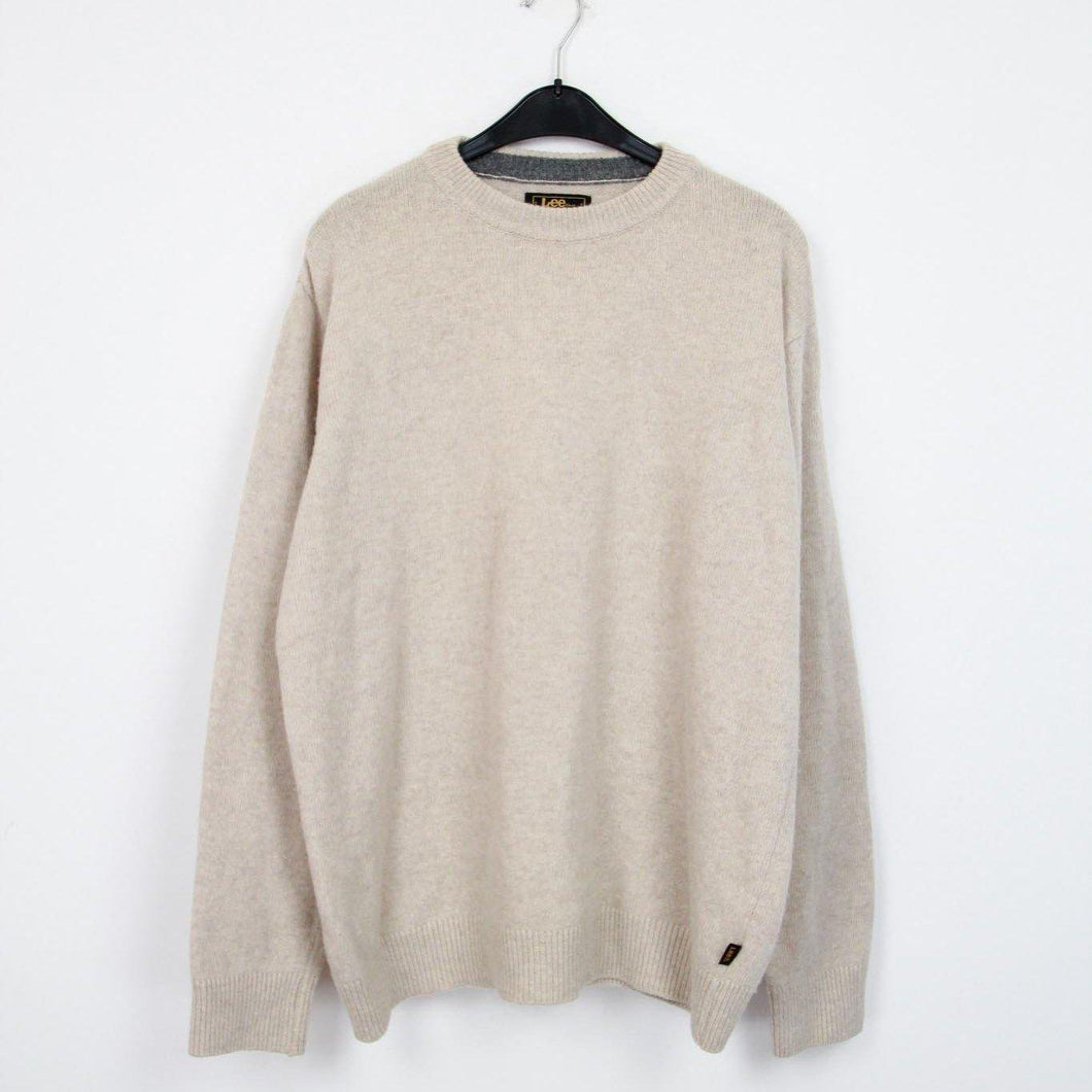LEE BASIC QUALITY KNIT/STRICK PULLOVER | L