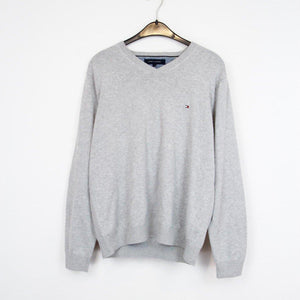TOMMY HILFIGER KNIT/STRICK PULLOVER | XL