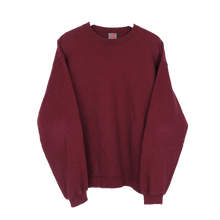 Laden Sie das Bild in den Galerie-Viewer, HANES VINTAGE PLAIN PREMIUM SWEATER | M