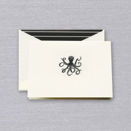 Engraved Octopus Notes