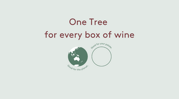 One Tree for every box of wine