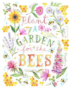 For the Bees Print
