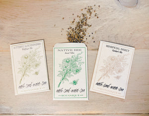 Butterfly & Hummingbird Wildflower Seed Packet
