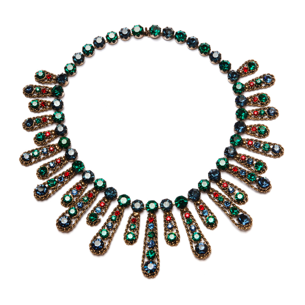 LeC Boucher Crystal Necklace