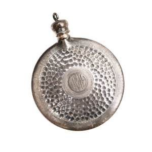 Sterling Perfume Bottle Pendant