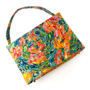 Stylecraft Miami Reversible Multi-Colored Silk Purse