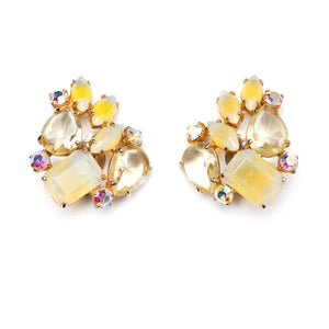 Schiaparelli Yellow Earrings