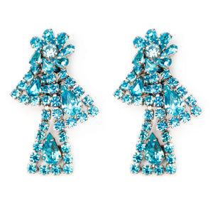 Weiss Turquoise Bow Earrings