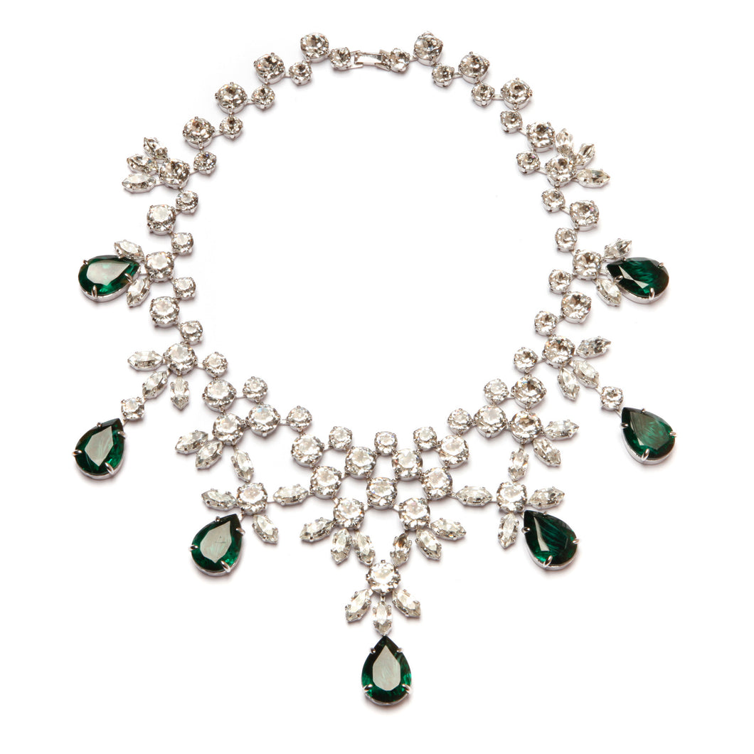 Diamante Bib Necklace